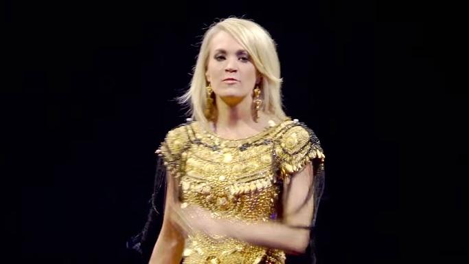 Carrie Underwood Church Bells