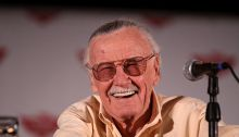 Stan Lee at the Phoenix Comicon in Phoenix, Arizona.